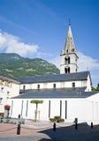 Martigny church royalty free stock photography