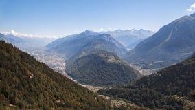 Martigny Combe, Switzerland Stock Photo