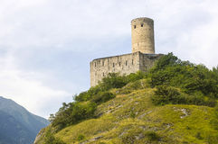 Martigny (Switzerland) - Castle Royalty Free Stock Photos