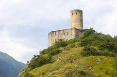 Martigny (Switzerland) - Castle royalty free stock photos