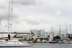 Martigues,法国轮渡口岸  免版税库存图片