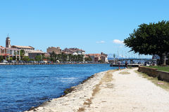 Martigues along Caronte canal, France Stock Photos