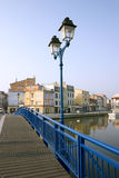 Martigues drawbridge Stock Image