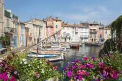 Martigues (Provence, França) fotografia de stock