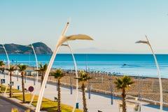 Martil plaża, Maroko Zdjęcia Stock