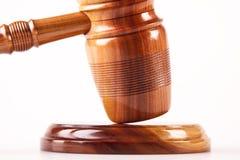 Martillo de la ley Imagenes de archivo