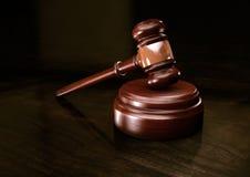 Martillo de la ley Imagen de archivo libre de regalías