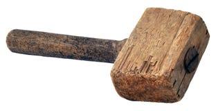 Martillo de madera (mazo) imagen de archivo
