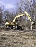 Martillo perforador en la grúa Foto de archivo