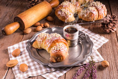 Martin croissants from Poznan Royalty Free Stock Photography