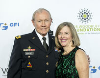 Martin Dempsey and Deanie Dempsey Royalty Free Stock Photo