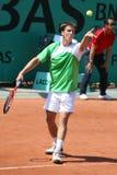 Martin FISCHER (AUT) at Roland Garros 2010 Stock Images