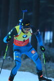 Martin Fourcade - biathlon Stock Afbeelding