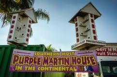 Martin House púrpura - granja, FL fotos de archivo libres de regalías