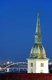 martin jest katedralny bratysławy st. obraz stock