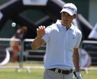 Martin Kaymer bij golf het Frans opent 2010 Stock Fotografie