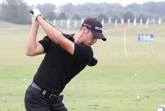 Martin Kaymer bij golf het Frans opent 2010 Royalty-vrije Stock Afbeelding