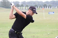 Martin Kaymer en el francés del golf abre 2010 Imagen de archivo libre de regalías