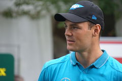 Martin Kaymer. Golf: Martin Kaymer at European Golf Tour Italian Open by Damiani royalty free stock image