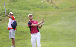Martin Kaymer at the golf french open 2015 Stock Image