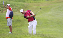Martin Kaymer at the golf french open 2015 Royalty Free Stock Image