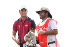 Martin Kaymer at the golf french open 2015 Stock Images