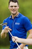 Martin Kaymer - Putting Stock Image