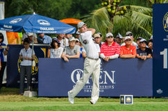 Martin Kaymer in Thailand Golf Championship 2015 Royalty Free Stock Photography