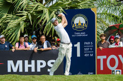 Martin Kaymer in Thailand Golf Championship 2015 Royalty Free Stock Images
