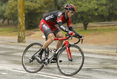 Martin Kohler of BMC Racing Team Royalty Free Stock Photography