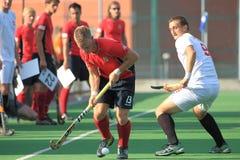 Martin Lehovec - international field hockey Stock Photos