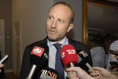MARTIN LIDEGAARD_MINISTER FOR FOREIGN AFFAIRS Royalty Free Stock Photos