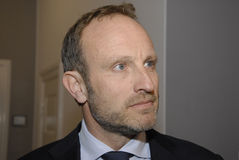 MARTIN LIDEGAARD_MINISTER FOR FOREIGN AFFAIRS Royalty Free Stock Images