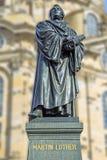 Martin Lutero Dresda Fotografia Stock Libera da Diritti