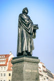 Martin Luther. An image of the Martin Luther statue in Dresden Germany Royalty Free Stock Images