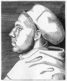 Martin Luther stock de ilustración