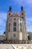 Martin Luther Church of Regensburg, Germany Stock Images