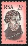 Martin Luther drukujący Południowa Afryka Obrazy Royalty Free