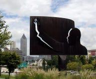 Martin Luther King小亚特兰大 免版税库存图片