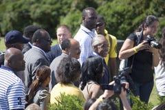 Martin Luther King ΙΙΙ και Al Sharpton ηγουμένων Στοκ Εικόνες