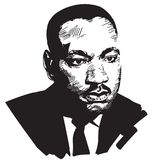 Martin Luther King libre illustration