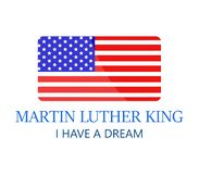 Martin Luther King ilustração stock