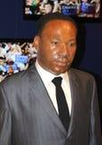 Martin Luther King alla l$signora Tussaud Immagine Stock