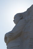 Martin Luther King covering the sun. Martin Luther King Jr Memorial opened to the public in 2011 Stock Image