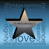 Martin Luther King Day Photo libre de droits