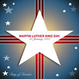 Martin Luther King Day Fotografia Stock