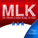 Martin Luther King Day Fotografie Stock Libere da Diritti