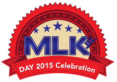 Martin luther king day 2015 Stock Photography