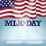 Martin Luther King Day-Hintergrund Lizenzfreies Stockfoto