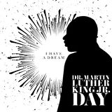 Martin Luther King Day Royalty Free Stock Photo
